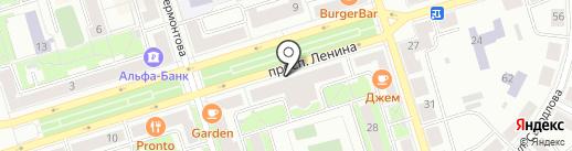 Фонтан на карте Октябрьского