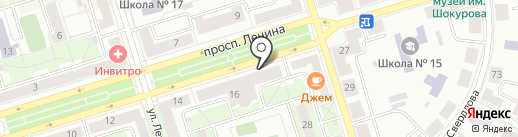 Вина Кубани на карте Октябрьского