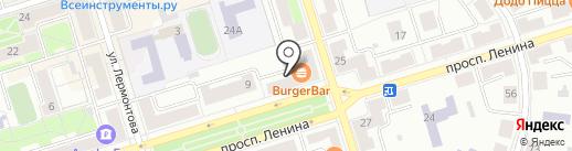 Златовласка на карте Октябрьского