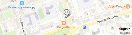 Челны-Бройлер на карте Октябрьского