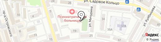 Оконика на карте Октябрьского