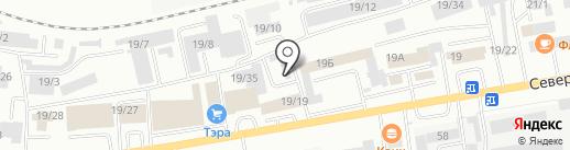 Чистый Дом на карте Октябрьского