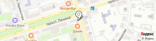 Джем на карте Октябрьского