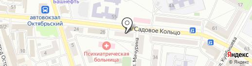 Альтаир на карте Октябрьского