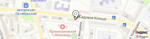 Шоколад на карте Октябрьского