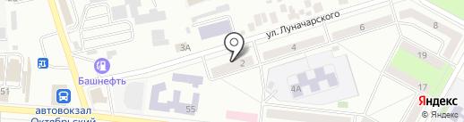 Электро на карте Октябрьского