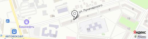 Эскорт на карте Октябрьского