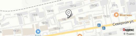 Шарк на карте Октябрьского