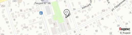 Кнопка на карте Октябрьского