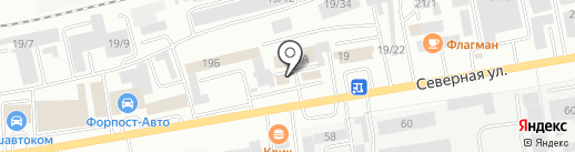 Мир авто на карте Октябрьского