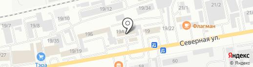 Малахит на карте Октябрьского