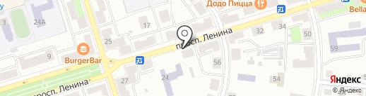 Фотосалон на карте Октябрьского