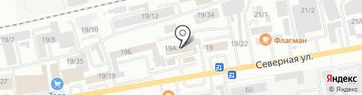 Вкафе на карте Октябрьского