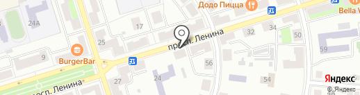 Чебуречная №1 на карте Октябрьского
