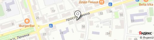 Нива на карте Октябрьского