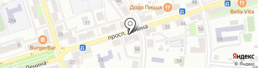 Светлое & тёмное на карте Октябрьского