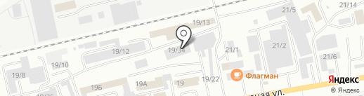 Атлантик-авто на карте Октябрьского