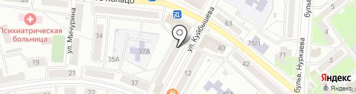 Деловой визит на карте Октябрьского