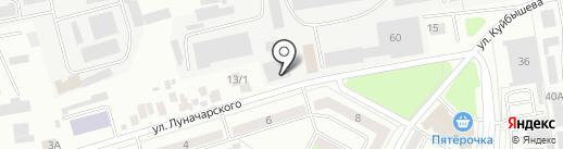 БАШСПИРТ на карте Октябрьского