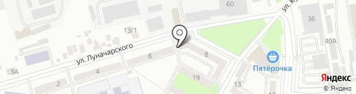 Крепыш на карте Октябрьского