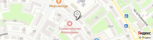 Счастливый дом на карте Октябрьского
