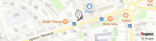 Мобильная связь на карте Октябрьского