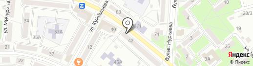 Дуэт на карте Октябрьского