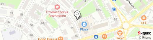 Вербена на карте Октябрьского