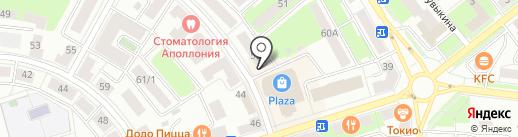 Саванна на карте Октябрьского