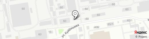 Озна на карте Октябрьского