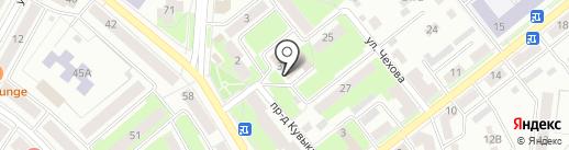 Благоустройство, МБУ на карте Октябрьского