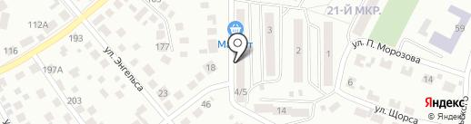 ТАКТ на карте Октябрьского