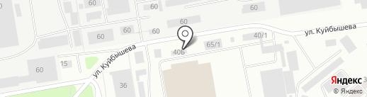 Mega Престиж на карте Октябрьского