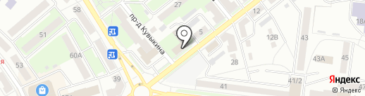 Аспект на карте Октябрьского