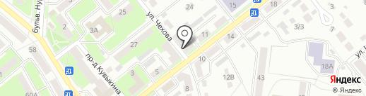 Стоматологическая клиника Муратова на карте Октябрьского