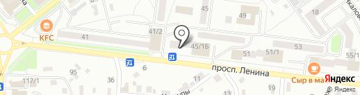 Аквамарин на карте Октябрьского