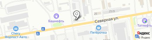Гермес на карте Октябрьского