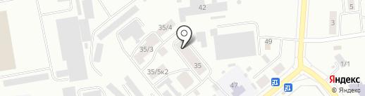 Гуля Ахунова на карте Октябрьского