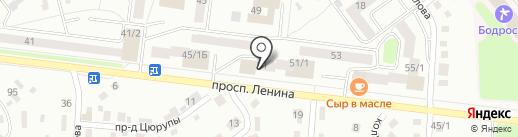Фаворит на карте Октябрьского