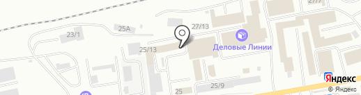 Башавтоком на карте Октябрьского