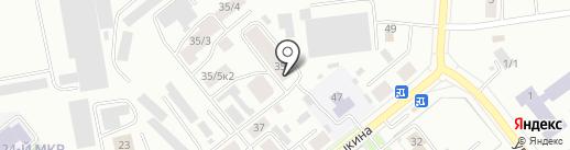 Азалия на карте Октябрьского