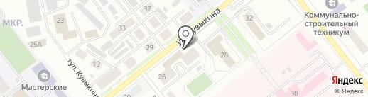 Юность на карте Октябрьского