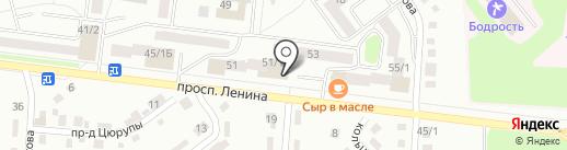 И сверху Вишенка на карте Октябрьского