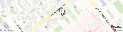 Росток на карте Октябрьского