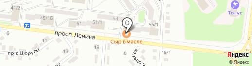 Marka на карте Октябрьского
