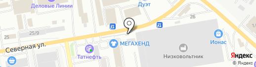 Kolesa Darom на карте Октябрьского