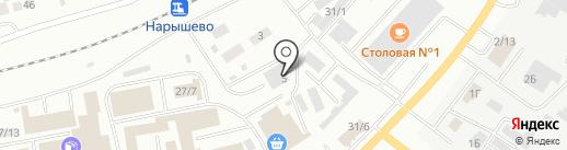 Гирас на карте Октябрьского