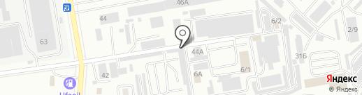 Шиномонтажная мастерская на карте Октябрьского