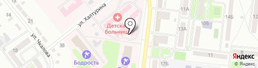 Детская поликлиника на карте Октябрьского