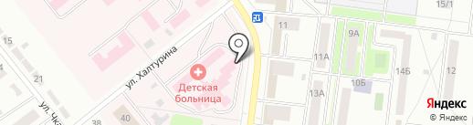 Городская федерация плавания на карте Октябрьского